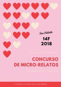 Concurso de Micro-relatos – San Valentín 2018