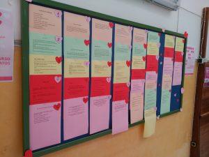 Expuestos los micro-relatos de San Valentín