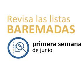 Admisión 2018-19: Publicada la relación de solicitudes baremadas