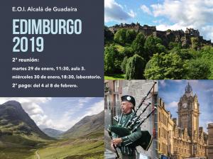 2ª Reunión del Viaje a Edimburgo
