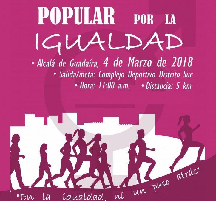 Carrera/Marcha popular por la Igualdad